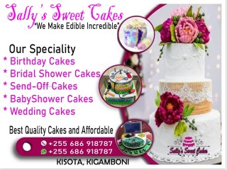 WE BAKE DIFFERENT KINDS OF CAKES